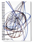 Modern Drawing Thirty-six Spiral Notebook