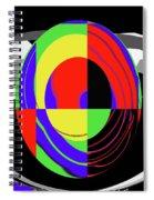 Modern Egg Spiral Notebook