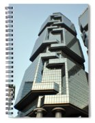Modern Hong Kong  Spiral Notebook