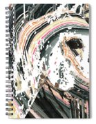 Modern Horse Art By Sharon Cummings Spiral Notebook