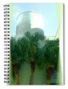 Modern Hotel Of Old Florida Spiral Notebook