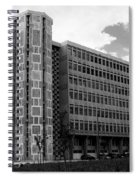 Modern Lisbon - The Palace Of Justice Spiral Notebook