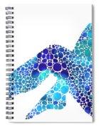 Modern Nude - Legs - Sharon Cummings Spiral Notebook