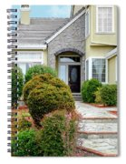 Modern Suburban House Hayward California 32 Spiral Notebook