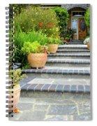 Modern Suburban House With Succulent Garden Hayward California 34 Spiral Notebook