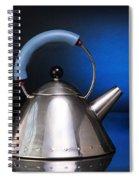 Modern Teapot. Spiral Notebook