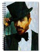 Modern Van Gogh Xiii Spiral Notebook