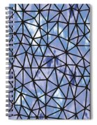 Modern Web Spiral Notebook