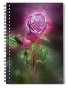 Modified Rose Spiral Notebook