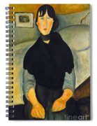 Modigliani: Woman, 1918 Spiral Notebook