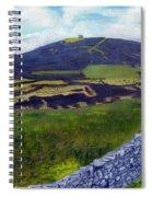 Moel Famau Hill Painting Spiral Notebook