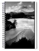 Moel Siabod Viewed From Llyn Glangors Lake Snowdonia Spiral Notebook