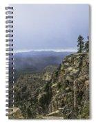 Mogollon Rim Under The Clouds Spiral Notebook