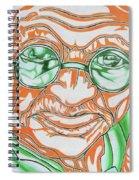 Mohandas Karamchand Gandhi  Spiral Notebook