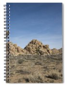 Mohave Desert Spiral Notebook