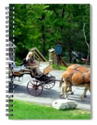 Mohonk Carriage Tour Spiral Notebook