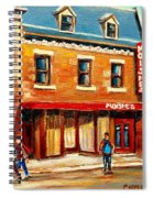 Moishes The Place For Steaks Spiral Notebook
