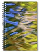 Mojave Gold Mosaic Abstract Art Spiral Notebook