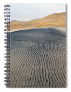 Mojave Kelso Dunes Portrait Spiral Notebook