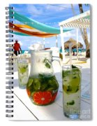 Mojitos On The Beach- Punta Cana Spiral Notebook
