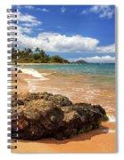 Mokapu Beach Maui Spiral Notebook