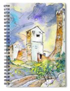 Molina De Aragon Spain 01 Spiral Notebook
