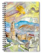 Molina De Aragon Spain 03 Spiral Notebook