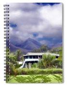 Moloa A Bay Hideaway Spiral Notebook