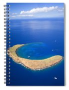 Molokini Crater Spiral Notebook