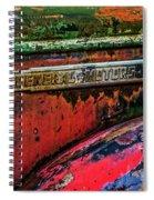 Molson Gm Truck Spiral Notebook