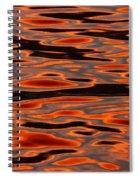 Molten Golden Waters Of The Upper Niagara Spiral Notebook