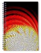 Molten Honeycomb Spiral Notebook