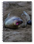 Mom And Pup Bonding Spiral Notebook