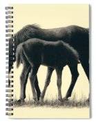 Mom And Son Spiral Notebook