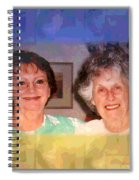 Mom Is Turning Ninety Spiral Notebook