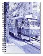Moment In Prague - Ballpoint Pen Art Spiral Notebook