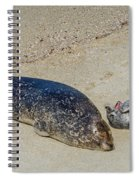 Momma And Pup Spiral Notebook
