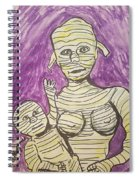 Mommyfied  Spiral Notebook