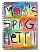 Mom's Spaghetti- Art By Linda Woods Spiral Notebook