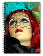 Mona In Mourning Spiral Notebook