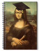 Mona Lisa  Graduation Day Spiral Notebook