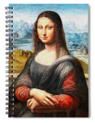 Mona Lisa Painting Spiral Notebook