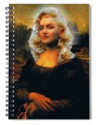 Mona Marilyn Spiral Notebook