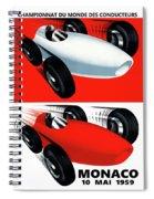 Monaco 1959 Spiral Notebook