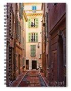 Monaco Street Spiral Notebook