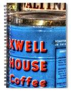 Monarch Maxwell House 761 Spiral Notebook