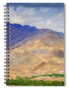 Monastery In The Mountains Spiral Notebook