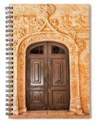 Monastery Of Jeronimos Door Spiral Notebook