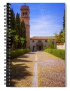 Monastery Of Saint Jerome Approach Spiral Notebook