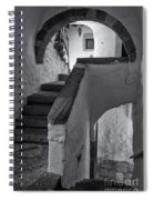 Monastery Of Saint John The Theologian Spiral Notebook